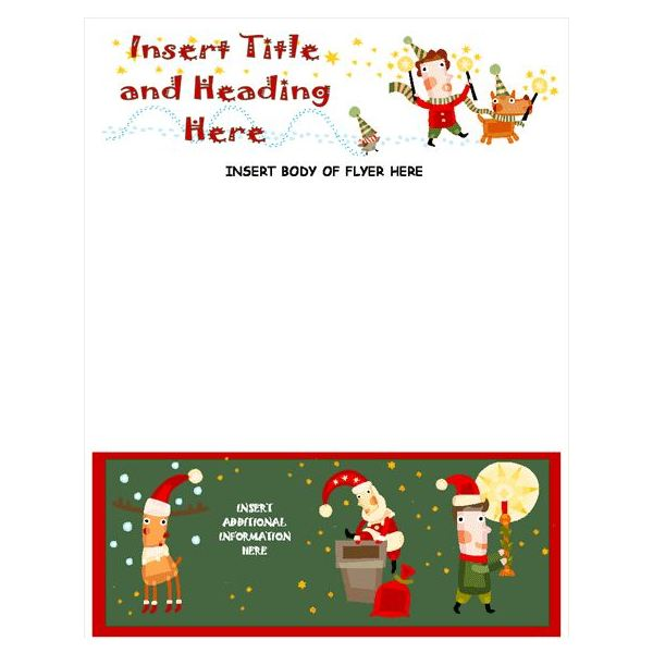 Free Christmas Letter Templates Microsoft Word Free Download