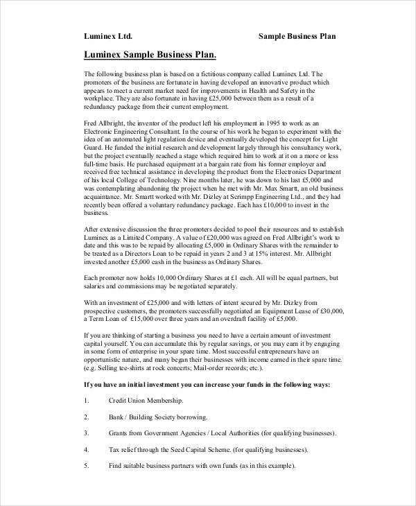 Example of business proposal free download 39 business proposal examples fbccfo Choice Image