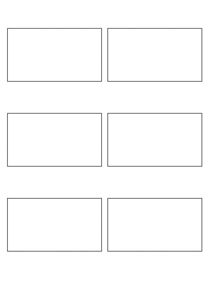 169 Storyboard Template Free Download