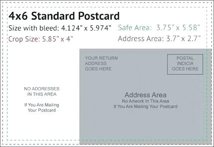 4x6 Postcard Template - FREE DOWNLOAD