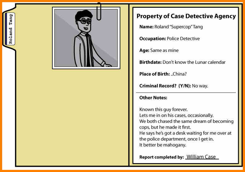 Case File Template - FREE DOWNLOAD